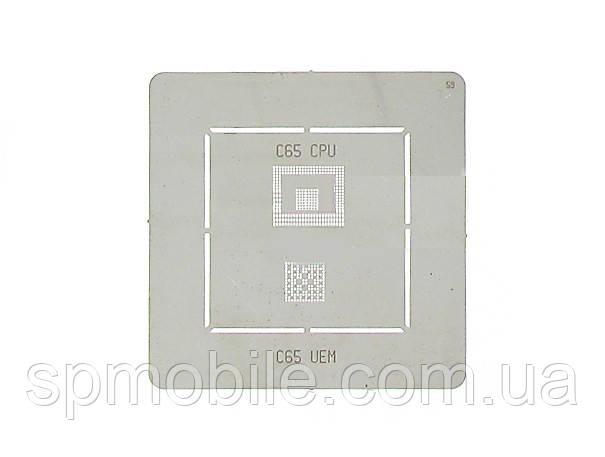 BGA-трафарет универсальный Siemens C65 IC Flash