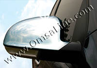 Накладки на зеркала volkswagen golf 5 (фольксваген гольф 5) 2004-2009 нерж
