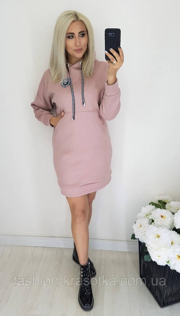 Женское платье-туника,размеры:48,50,52.