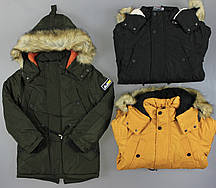 Куртка на меху для мальчиков Setty Koop, 6-16 лет. Артикул: C1721B {есть:10 лет,14 лет,16 лет,6 лет}