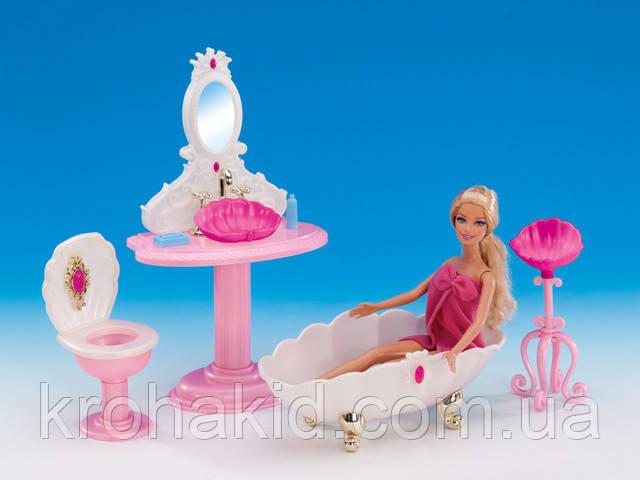 """Мебель для Барби """"Глория"""" Ванная 1213"""