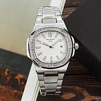 Женские наручные часы  Patek Philippe серебристый цвет