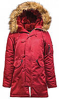 Парка Alpha Industries N-3B W Parka XS Commander Red Alpha-20344-XS, КОД: 717911