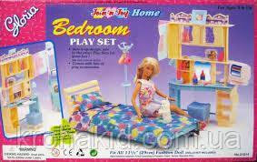 """Мебель для кукол Барби """"Глория"""" Спальня 21014, в коробке, фото 2"""