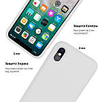 Armor Standart Silicone Case чехол для iPhone 11 Pro Max - Sea Blue, фото 4