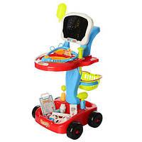 Набор доктора Limo Toy 660-43, тележка красная