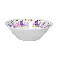 Салатник круглый 15 см Пурпурные цветы Оселя 24-198-014