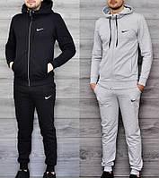 Мужской зимний утепленный спортивный костюм в стиле Nike 2 цвета в наличии