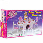"""Мебель для Барби """"Глория"""" Столовая 2312"""