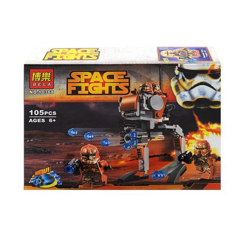 "Конструктор BELA SPACE FIGHTS ""Пехот.планети Джеонозис"" 105дет"
