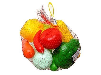 Набір овочів ігровий, 9 предметів, сітка
