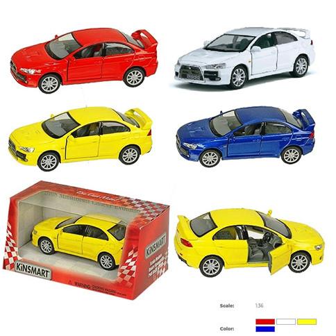 """Машина Kinsmart """"Mitsubishi Lancer Evolution X"""""""