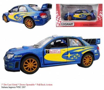 """Модель легкова  5"""" KT5328W SUBARU IMPREZA WRC (2007)"""