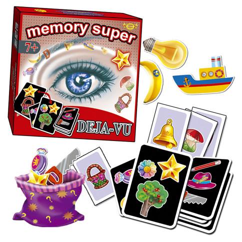 Гра настільна Memory Super/Deja-vu МКН0706 ТМ Мастер