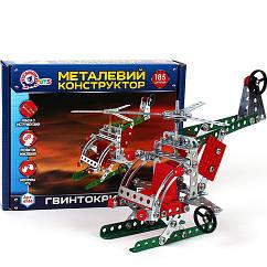 """Конструктор металлический """"Вертолет ТехноК"""""""