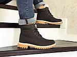 Чоловічі черевики Timberland (коричневі) ЗИМА, фото 2