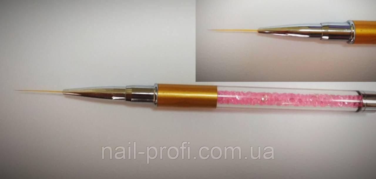 Кисть для рисования(ручка со стразами) 17мм