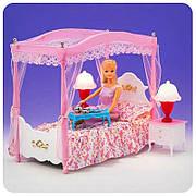 "Мебель для кукол Барби ""Глория"" Спальня 2314, в коробке"