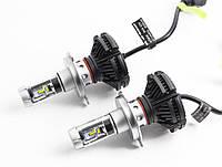 Автомобильные LED лампы X3 H7 6000K 6000lm 25 Вт ml-24, КОД: 358754