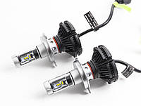 Автомобильные LED лампы X3 H3 6000K 6000lm 25 Вт ml-23, КОД: 358770