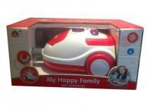Пилосос іграшковий на батарейках, світлові ефекти, у коробці