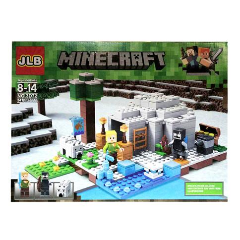 Конструктор Minecraft  Юрта 341 деталь