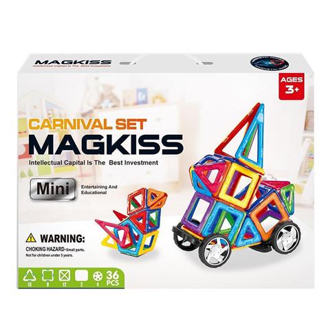 Магнітний конструктор 36 деталей Magkiss Mini HD340A