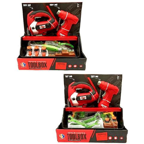 Набір інструментів  на батарейках у коробці