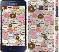 """Чехол на Samsung Galaxy A3 A300H Пончики в глазури """"2876c-72"""""""
