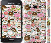 "Чехол на Samsung Galaxy Core 2 G355 Пончики в глазури ""2876c-75"""