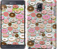 "Чехол на Samsung Galaxy Note 4 N910H Пончики в глазури ""2876c-64"""