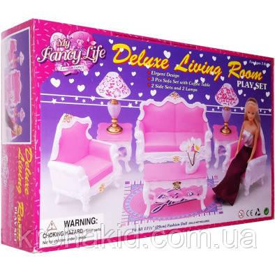 """Меблі для Барбі """"Глорія"""" Вітальня 2317, в коробці"""