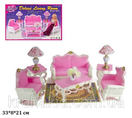 """Меблі для Барбі """"Глорія"""" Вітальня 2317, в коробці, фото 2"""