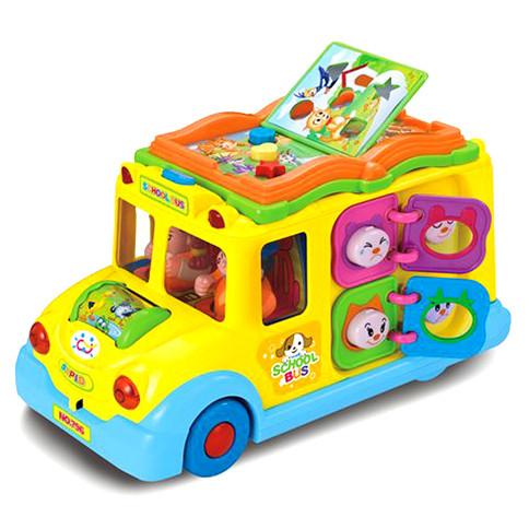 Кумедний автобус книга батар.муз.світ.корRUS Логіка