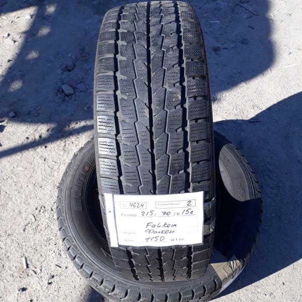 Бусовские шины б.у. / резина бу 215.70.r15с Falken EuroWinter Фалкен