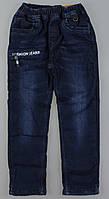 Джинсовые брюки на флисе для мальчиков Grace, Артикул: B82795 [98 СМ] {есть:98 СМ,104 СМ}