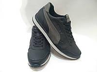 Мужские кожаные кроссовки Puma / реплика, фото 1