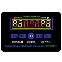 Терморегулятор XH-W1411, 220В, 10А, -55~120ºC + Датчик, фото 1