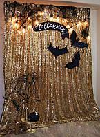 Праздничное освещение ретро гирлянда для Хеллоуина от 1 метра, гирлянда из лампочек, под заказ