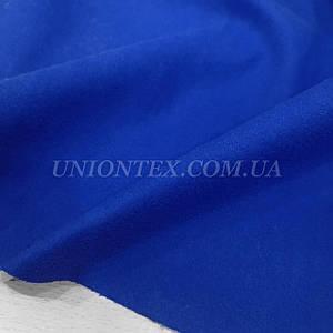 Ткань пальтовая кашемир синий электрик
