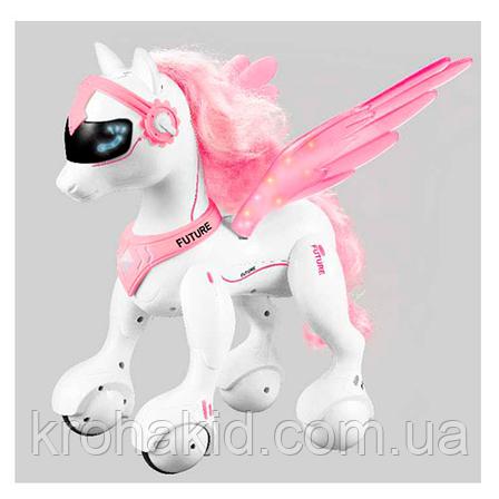 Интерактивная игрушка лошадка пони единорог RC 0002 Райли (Пегас) на радиоуправлении, фото 2