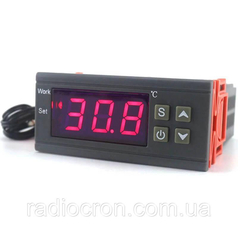 Терморегулятор MH1210W (точність 0.1°C), 10А 220В, -50 ~ +110°C, з виносним датчиком