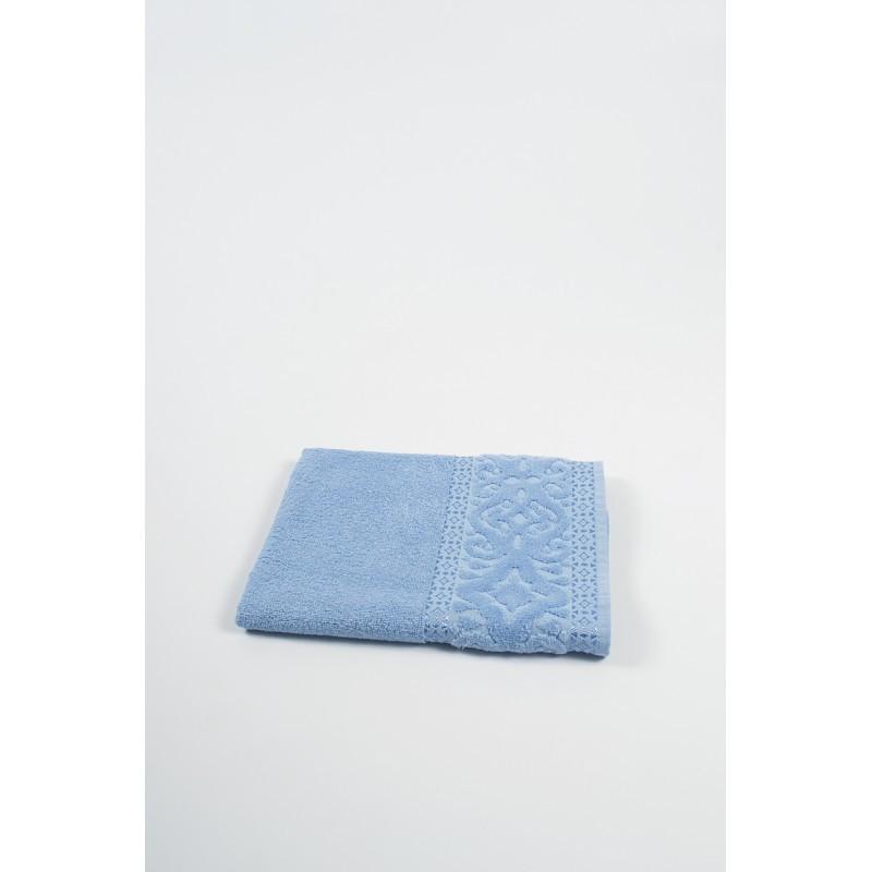 Полотенце Shamrock - Misteria голубое 70*140