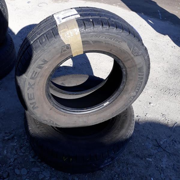 Шины б.у. 225.70.r15с Nexen GuardWin Нексен. Резина бу для микроавтобусов. Автошина усиленная. Цешка