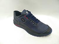 Мужские кожаные кроссовки Ecco реплика качественные, фото 1