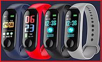 Фитнес трекер браслет М3 mi band 3 Смарт часы Спортивные часы Умные