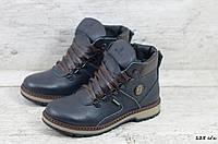 Зимние кожаные ботинки Zangak (Реплика) (Код: 125 с/к  ) ►Размеры [36,37,38,39], фото 1