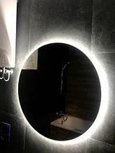 Круглое зеркало с Led подсветкой для ванной Lidia 60*60см