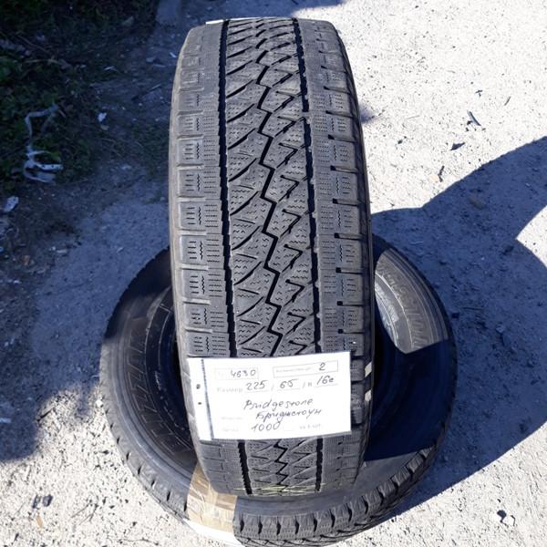 Бусовские шины б.у. (усиленная резина бу) 225.65.r16с Bridgestone Blizzak Бриджстоун