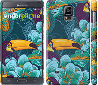 "Чехол на Samsung Galaxy Note 4 N910H Тропики ""2852c-64"""